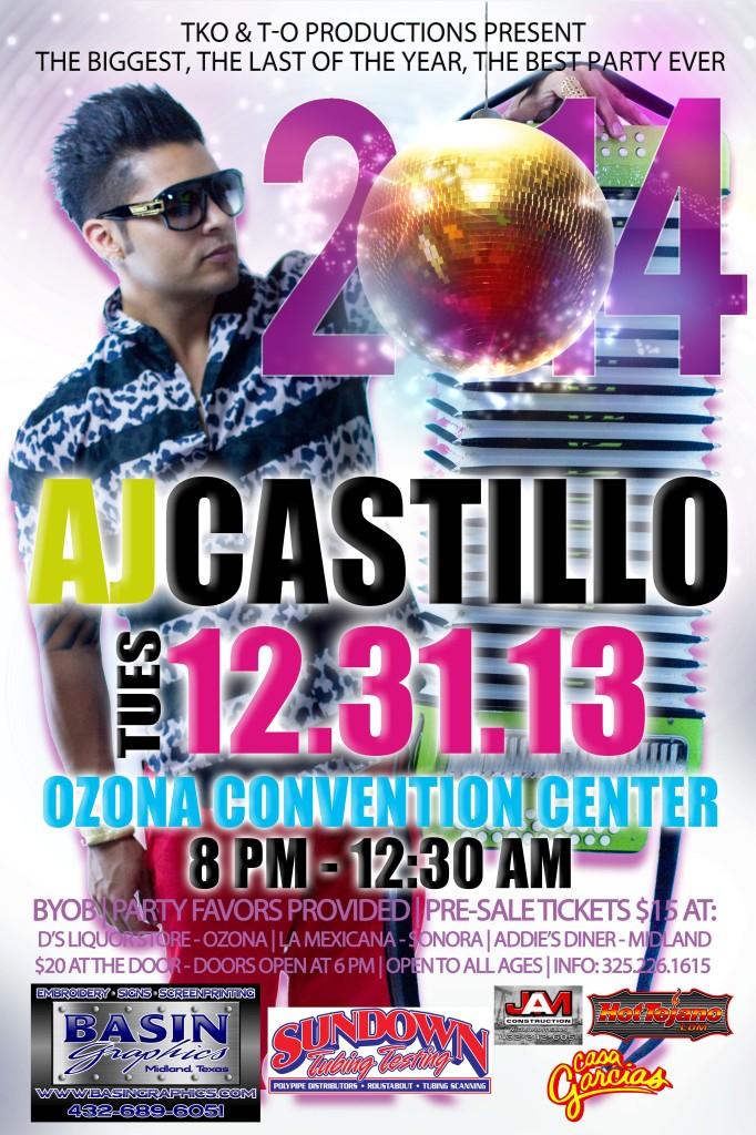 AJ Castillo 12-31-13 Ozona TX