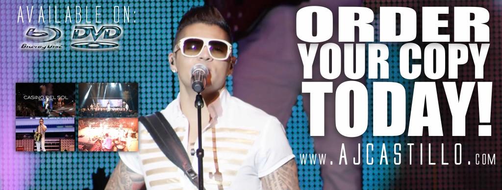 Order Live DVD